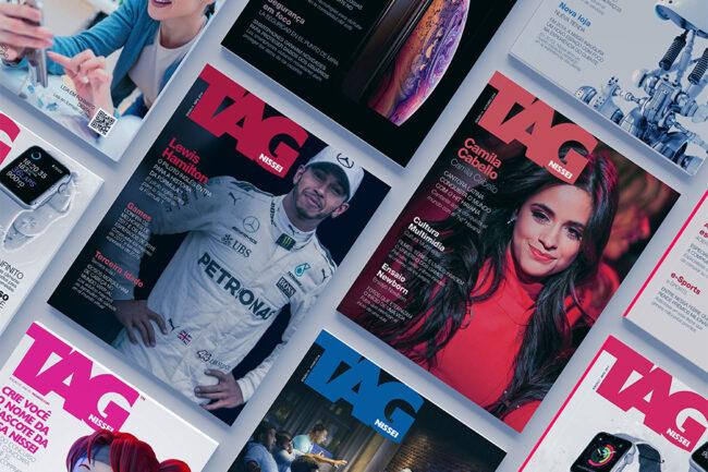 TailorMedia Mídias Proprietárias Revista NISSEI Tag pgrid